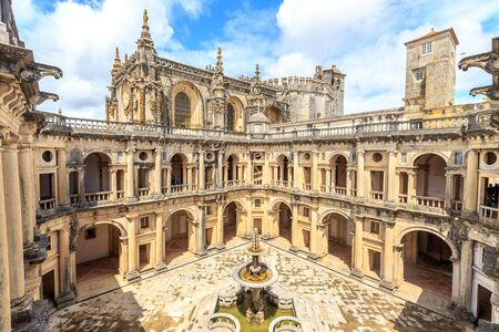 convento: Knights of the Templar (Convents of Christ) in Tomar. Portugal Editorial