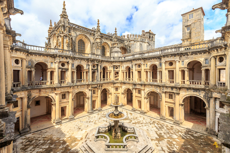 Knights of the Templar (Convents of Christ) in Tomar. Portugal 報道画像