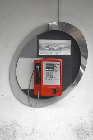 telco: Red Public Telephone