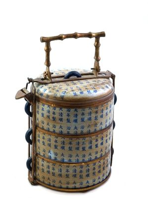 lunch box: Antique Chinese Lunch Box