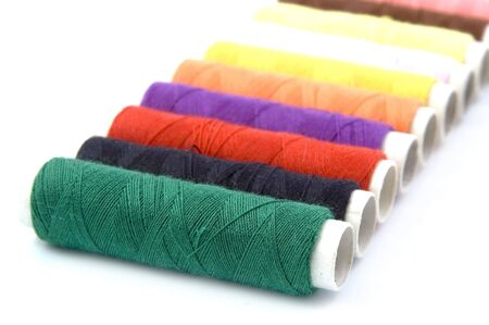 Row of Threads photo