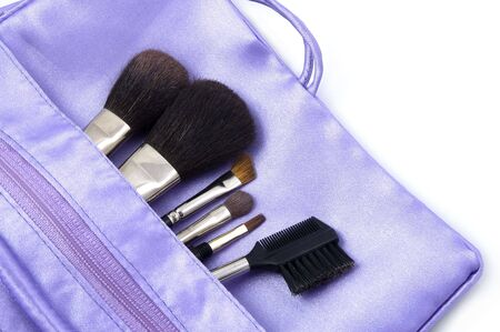 pouch: Makeup Brushes in Pouch