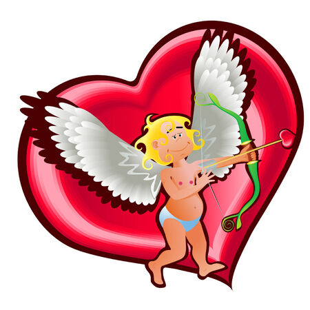 angel and heart