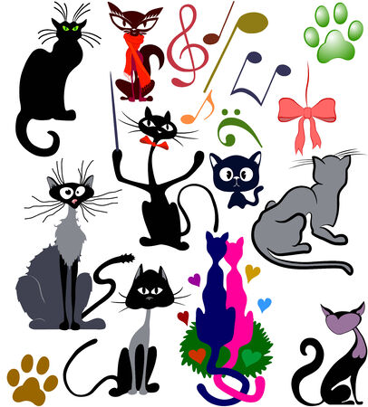 cats Stock Vector - 5492183