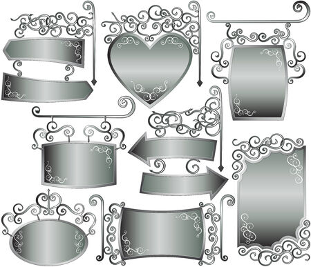 silver picture frame: silver frame