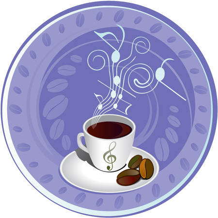 coffee symbol for the logo Vector