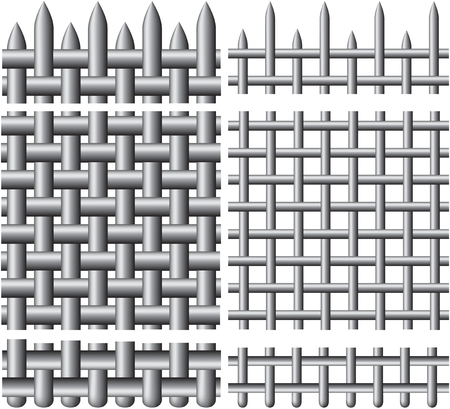 aluminium texture: grating, for seamless texture
