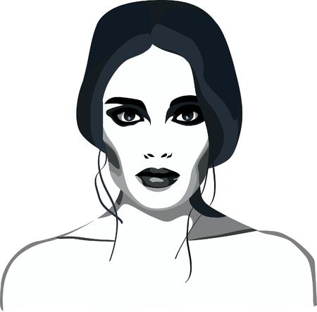 smoky eyes.girl.style