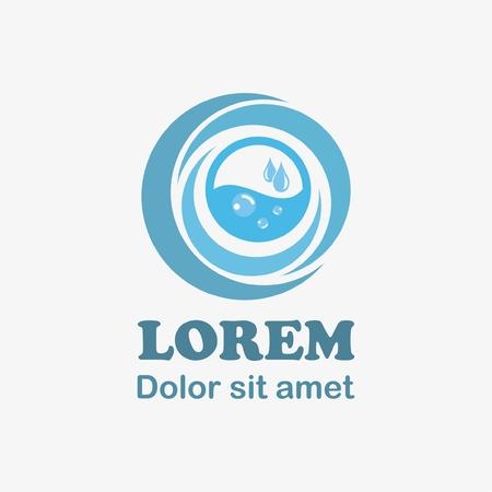 Water icon design.