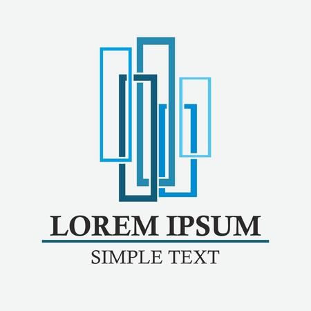 construction companies: Building logo design.