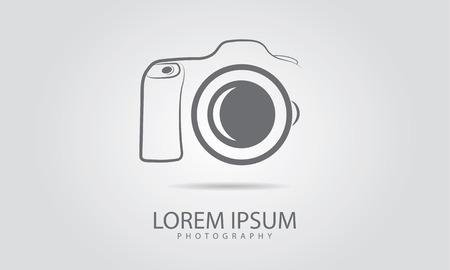Camera icon design 일러스트