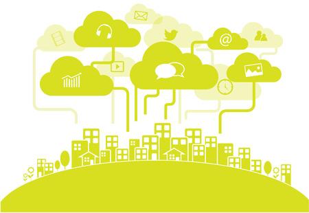 interaccion social: Medios de comunicación social de la ciudad