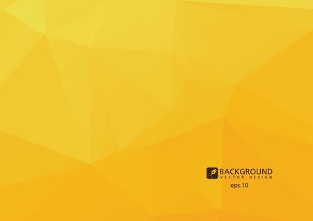 orenge: Orenge low polygonal abstract background Illustration