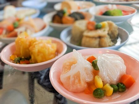 Dim Sum - One of the most favourite chinese food Stock Photo