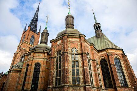 Riddarholm Church, the burial church of the Swedish monarchs - Stockholm, Sweden