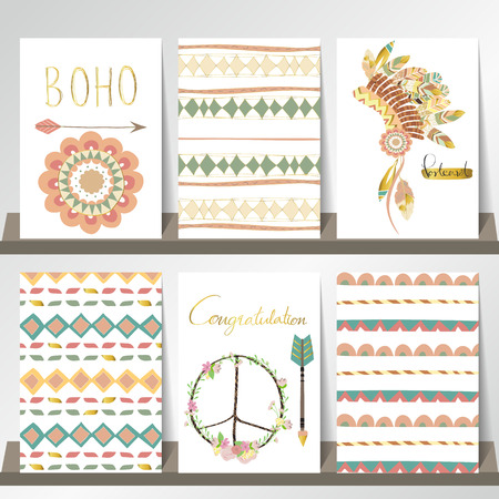 Light green gold pink card template with hat in boho style on light green gold pink card template with hat in boho style on summer with arrow maxwellsz