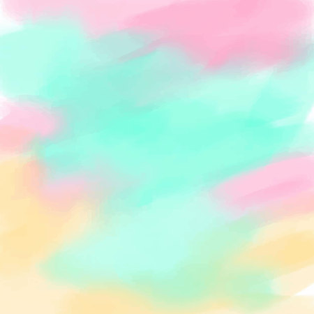 Light yellow blue pink love pastel background in vintage summer