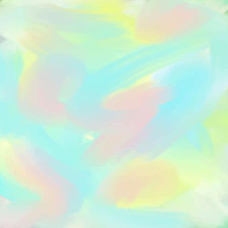 Light pink green blue love pastel background in vintage summer