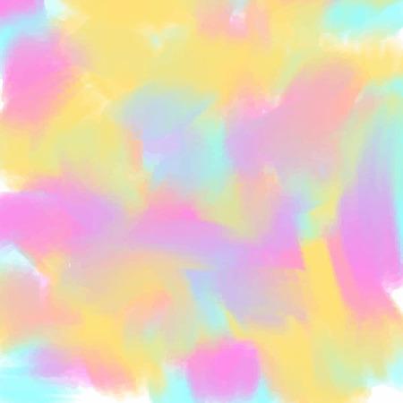 Light blue pink yelllow love pastel background in vintage summer