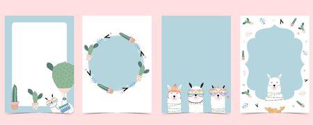 Collection of animal frame set