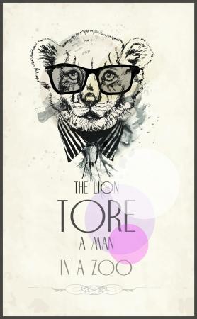 sketch lion