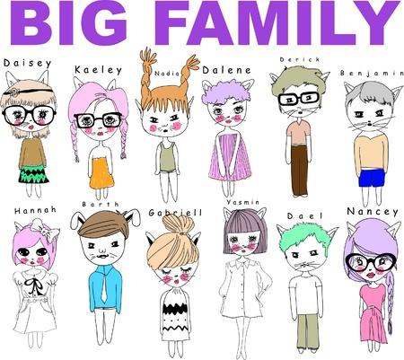 wielka rodzina