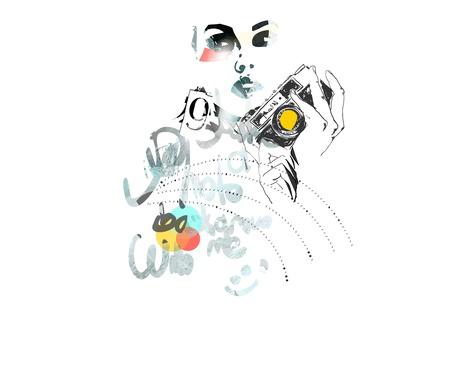 kolaż Ilustracja