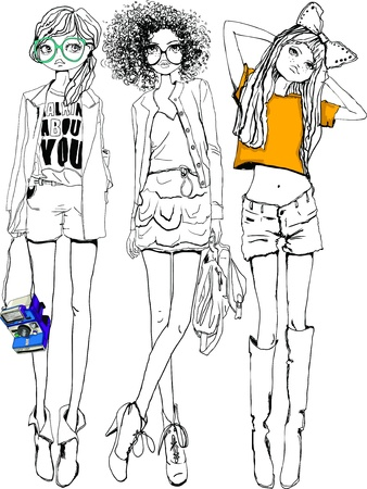 girls Illustration