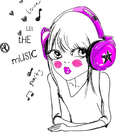 music-with-love Vector