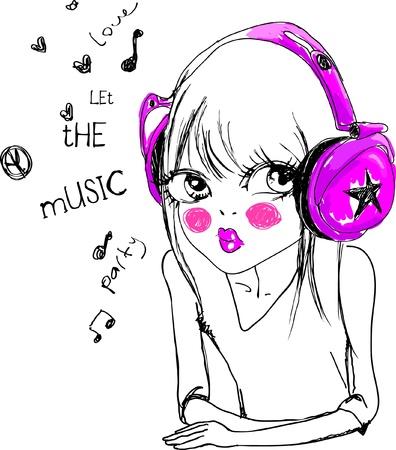 muzyka-z-miłości Ilustracja