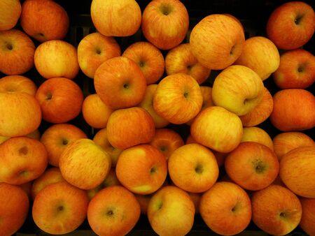 closeup: Closeup of fresh Fuji Apple