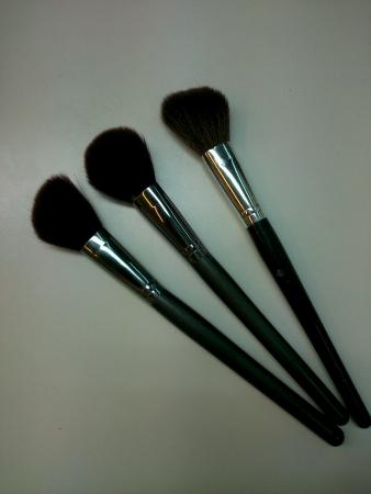 make up brushes: Three Make up brushes