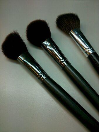 make up brushes: Close up Make up brushes