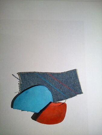 materiale: Materiale da cucire in fondo isolato