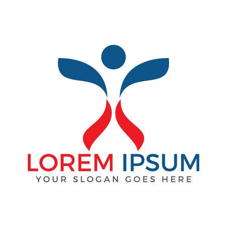 Health & freedom logo design.