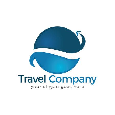 Travel Logo. Travel agency adventure creative sign. Vectores