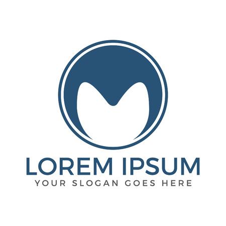 Letter M business logo design. Vettoriali