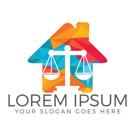 Law Firm Logo Design. Illustration