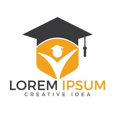 Education Logo design. Institutional and educational vector logo design. Illustration