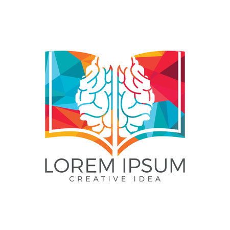 logo de conception de logo de cerveau . conception de logo et de l & # 39 ; Logo