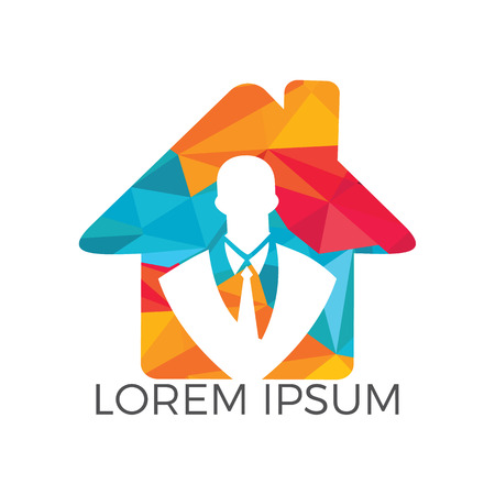 Leadership and Recruitment agency icon design. Businessman  icon. People icon. Business  sign.