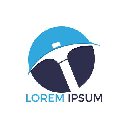 Mining Logo Design. Mining industry logo design template.