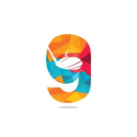 Initial letter G golf vector logo design. Golf club inspiration logo design. Reklamní fotografie - 133010601