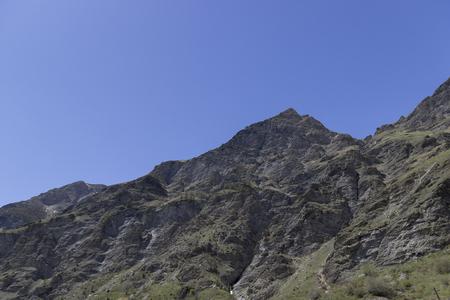 landscape of rochemolles in Valsusa valley Standard-Bild - 103691968