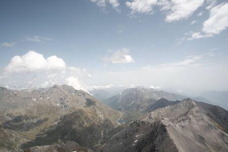 Trekking on the Rocciamelone mountain in valsusa Zdjęcie Seryjne