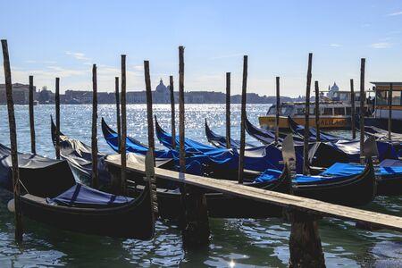 Tourism and visiting Venezia in Italy during Carnevale Archivio Fotografico
