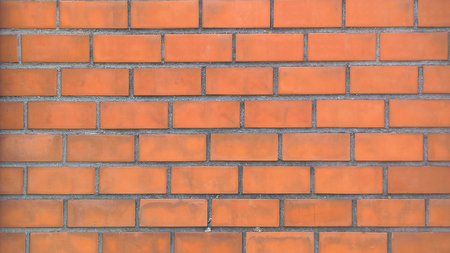 Red brick wall. Suitable for any purprose use