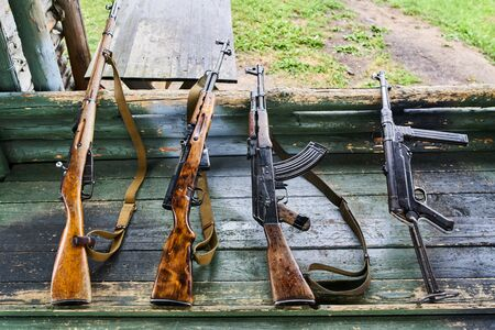 World war two soviet and german armor. Modern conflicts separatists guns.