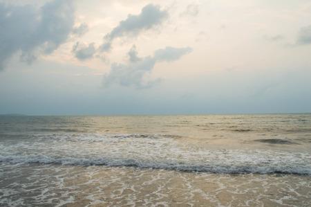 vast: The sea is vast Stock Photo