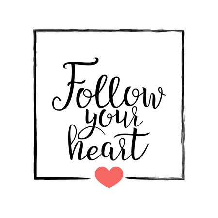 Ich Gebe Dir Mein Herz. Handwritten Beschriftung Zitat über Die ...